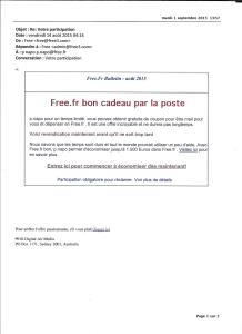 e-mailing free